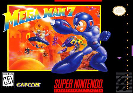 Mega Man Vii Snes Rom Usa Mega Man Games Box Man