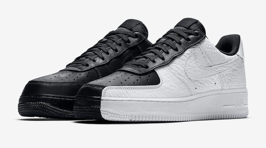 The Nike Air Force 1 Low Split is featured in its official