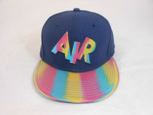63a1746b06 Nike Air Strap Back Hologram Rainbow Cap Hat One Size Back to The Future  Mags