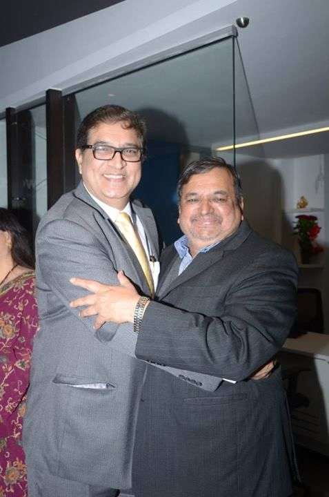 Mr. Sudhir Patil with one of our esteemed guest.