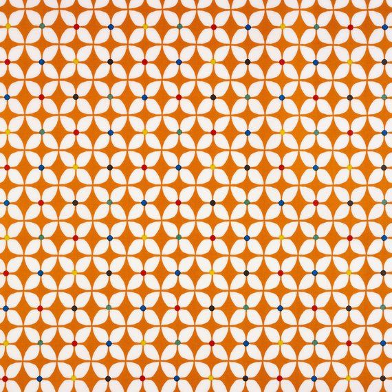 One Of Our Newest Designs That We Bring To You In 2018 Is The Burnt Orange Scandic Marguerite Floral Oilcloth Wipe Clean Tablecloth It Is A Scandinavian Style In 2020