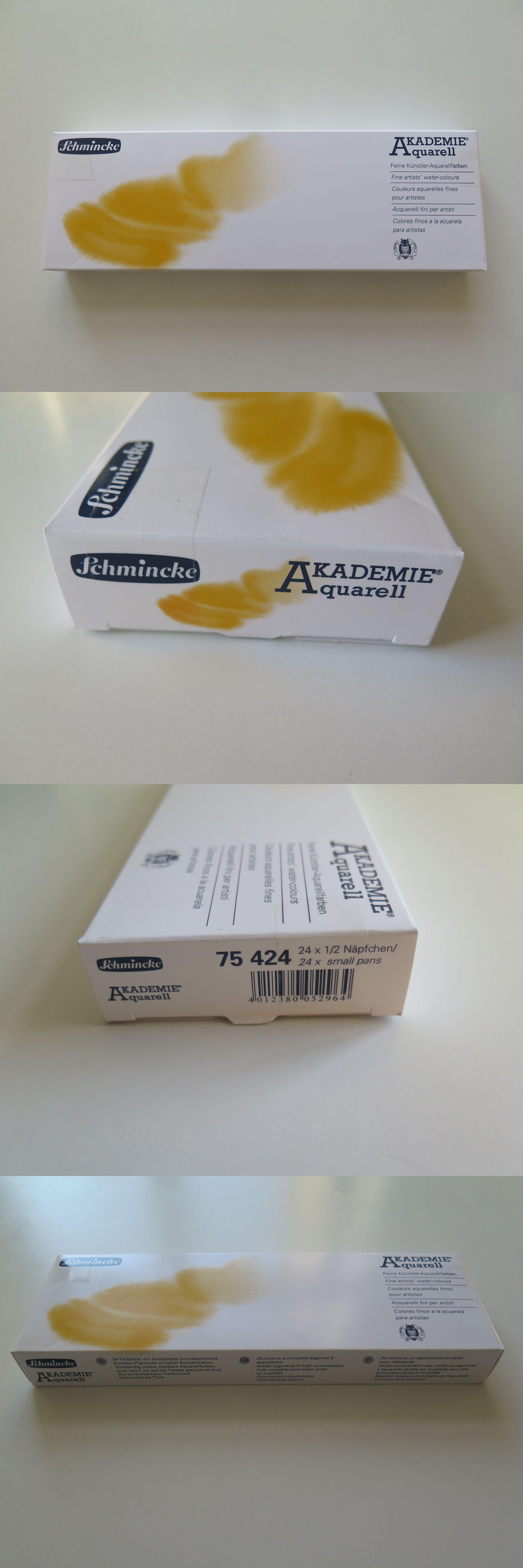 Schmincke Aquarellfarbe Akademie Aquarell Malkasten Metallkasten