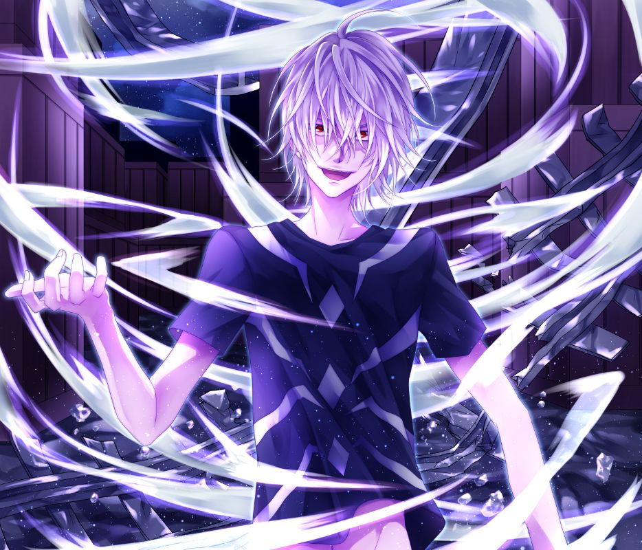 Toaru Accelerator art by Kamu (Zerochan) Personagens
