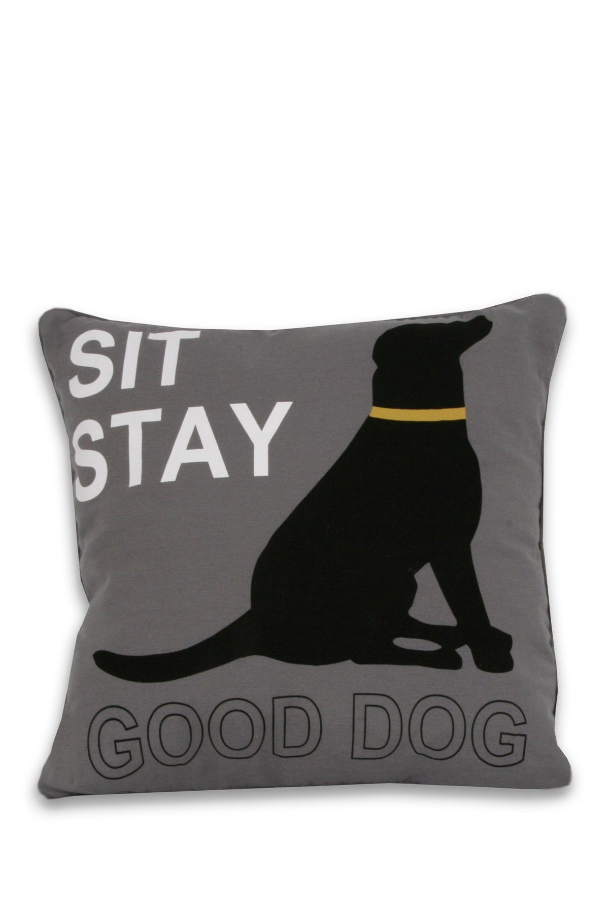Good Dog Pillow With Contrast Welt Dog Pillow Dogs Best Dogs