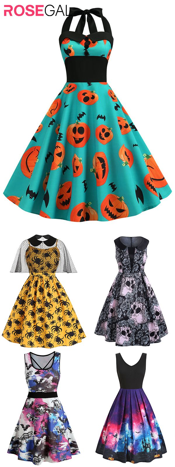 Rosegal plus size Halloween costume dress vintage Halloween dresses ideas