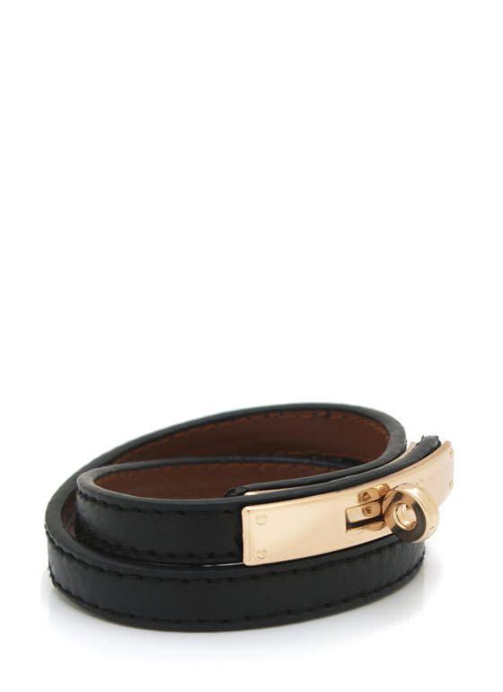 wraparound leather bracelet