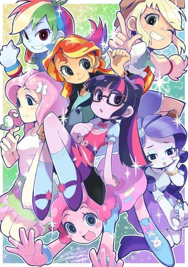 My Little Pony Equestria Girls  My Little Pony Wallpaper -8452