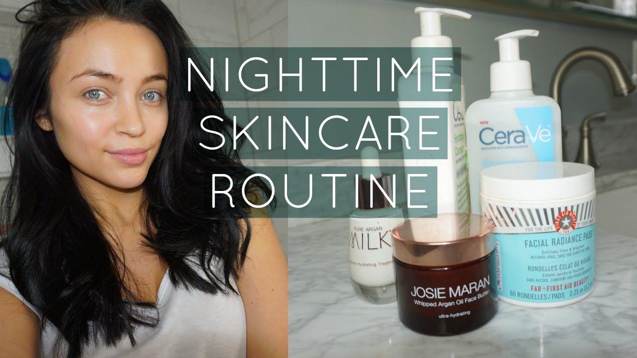 My Nighttime Skincare Routine Winter Stephanie Ledda Skin Care