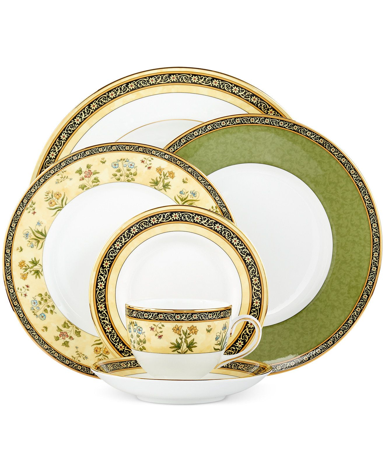 India Collection Wedgwood Dinnerware Fine China