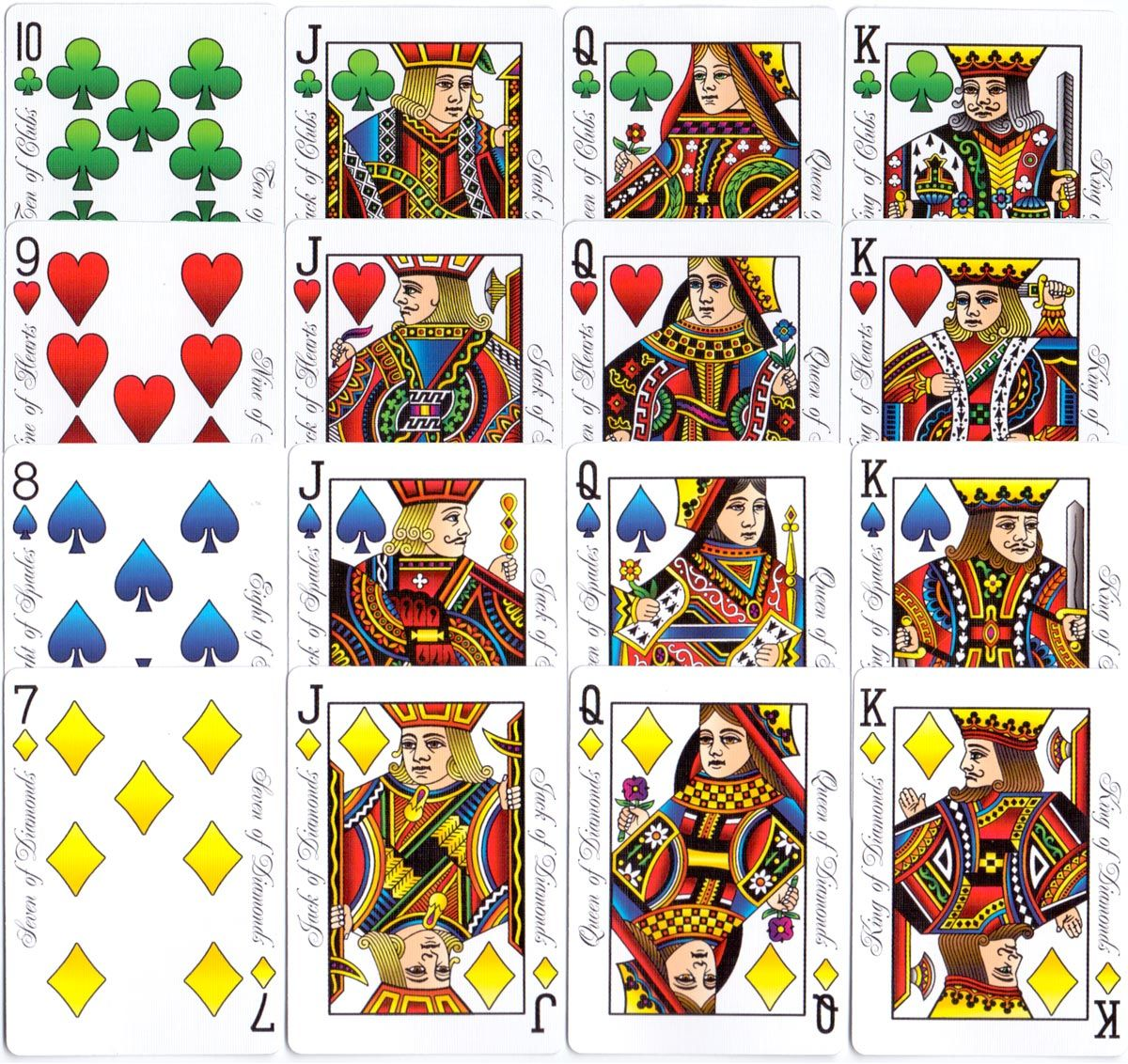 Hesslers Enhanced Bicycle Playing Cards Playing Cards Deck Of