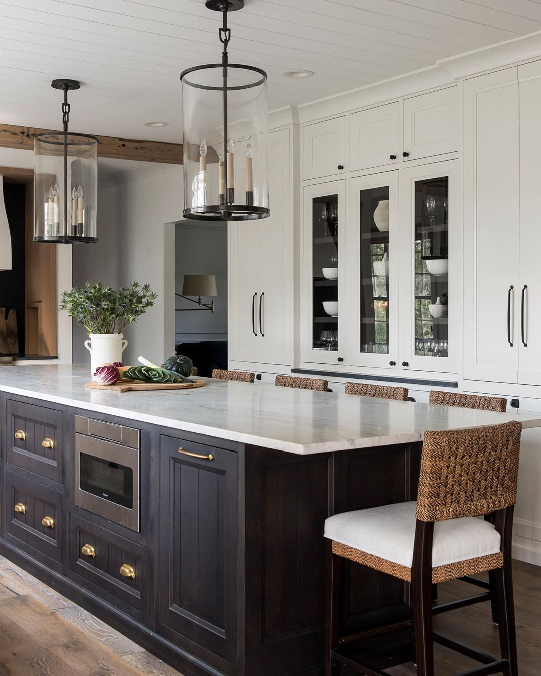 Whittney Parkinson Design On Instagram Tailor Made For The Client Who Loves Her Some High Contrast Kitchen In 2020 Home Kitchens Kitchen Renovation Kitchen Remodel