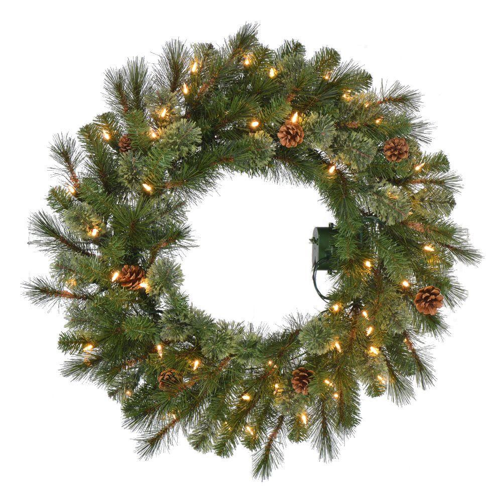 Pine Artificial Christmas Wreath