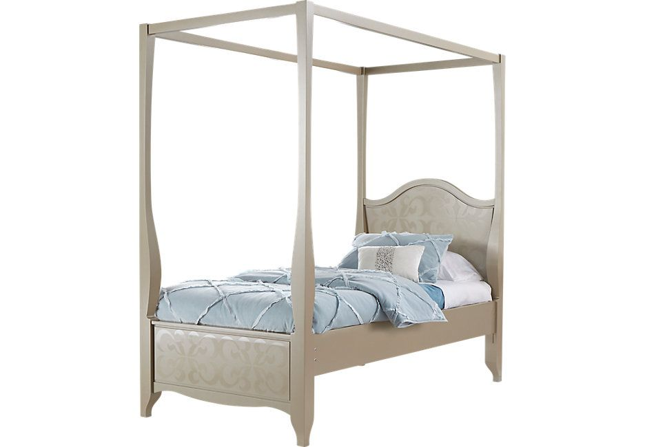 canopy bed frame option