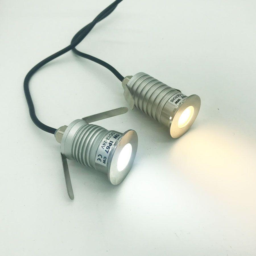 1w 3w Ip67 Cree Led Cob Downlight Dc 12v 24v Mini Bulb Spot