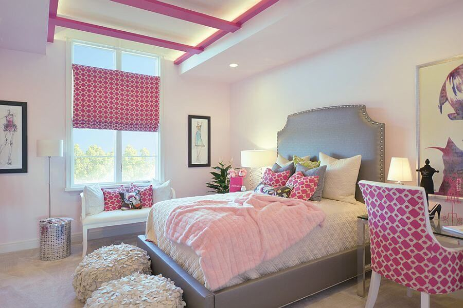 Комната для девочки 17 лет