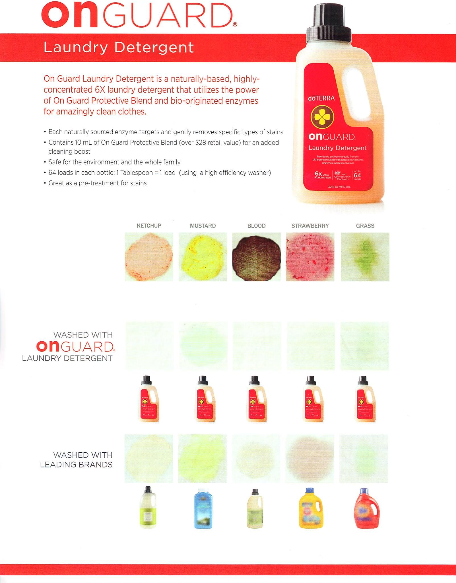 On Guard Detergent Comparison Essential Oils Cleaning Purchase