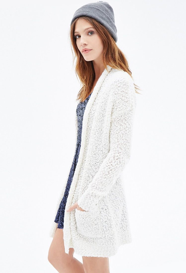 Chunky Knit Longline Cardigan | Forever 21 - 2000100259 | style   ...