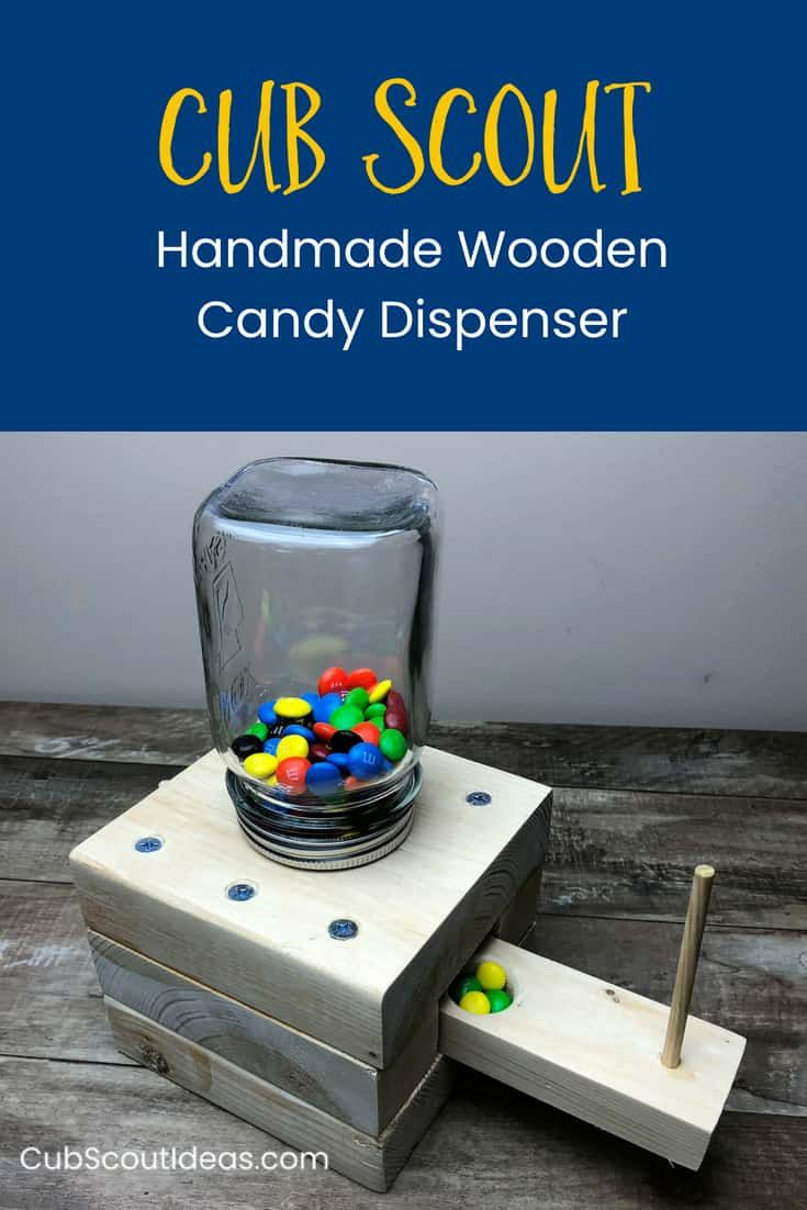 How to Make a Cool Wooden Candy Dispenser