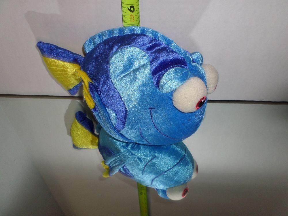 Disney Pixar Walt Disney World Finding Nemo Dory Plush Stuffed