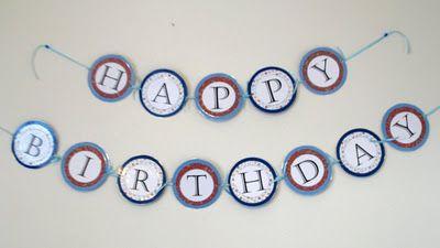 Happy Birthday Printable ~ Free printable happy birthday banner happy birthday banners