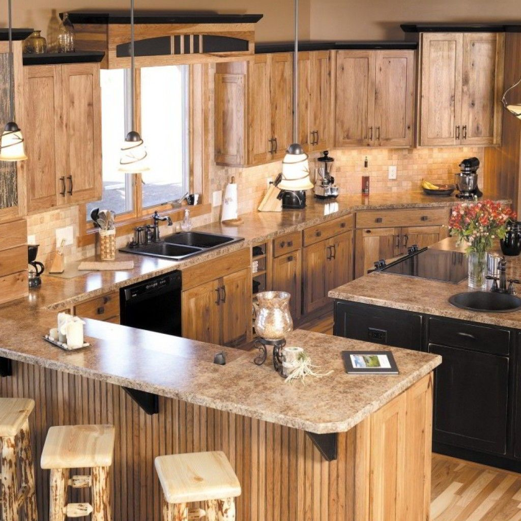Knotty Hickory Kitchen Cabinets: Image Result For Hickory Kitchen Cabinets