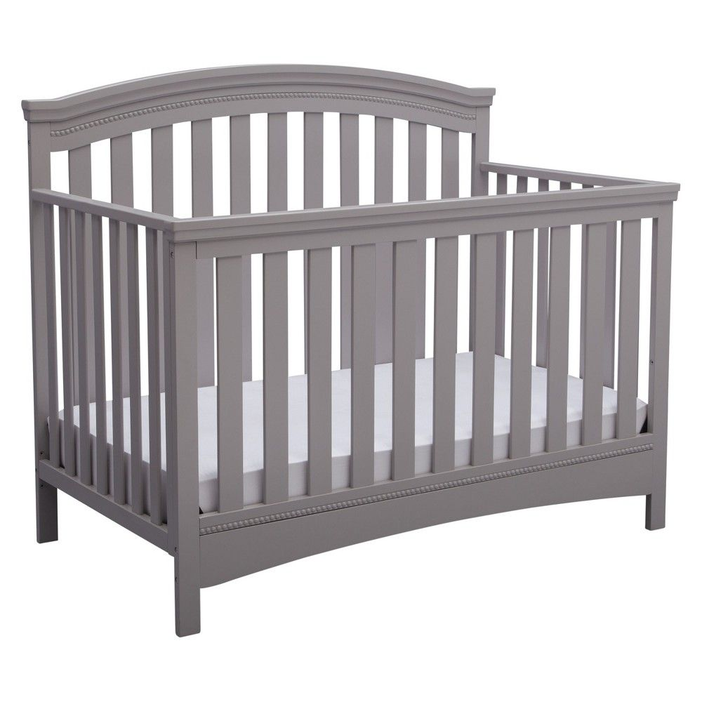 Stupendous Delta Children Emerson 4 In 1 Convertible Crib Gray Gray Pdpeps Interior Chair Design Pdpepsorg