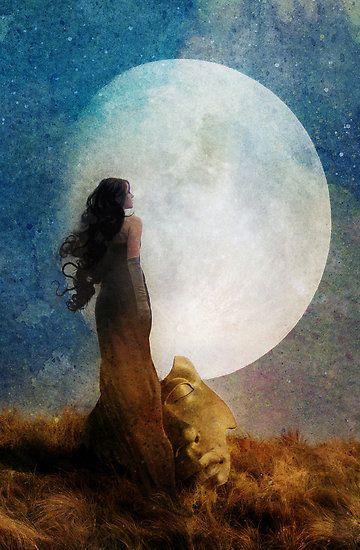 The MoonSI YO FUERA LA LUNATE ILUMINARIA SOLO A TI PARA CONTEMPLAR TU BELLEZA TODA NOCHE