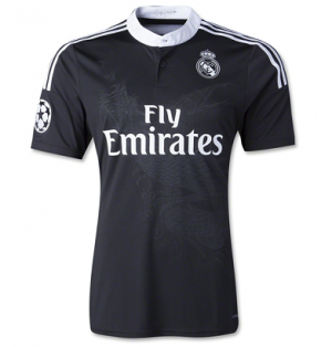 14 15 Real Madrid Football Shirt Cheap Dragon Black Third Jersey 1408271121 Shirts Soccer Jersey Football Shirts