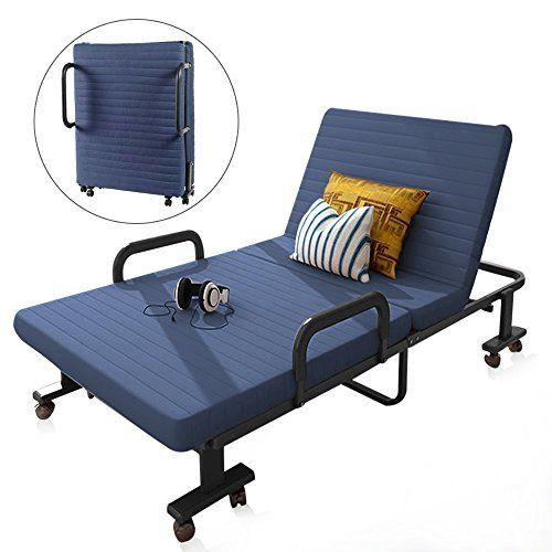 Best Pexfix Folding Bed With Memory Foam Mattress Rollaway Bed 640 x 480
