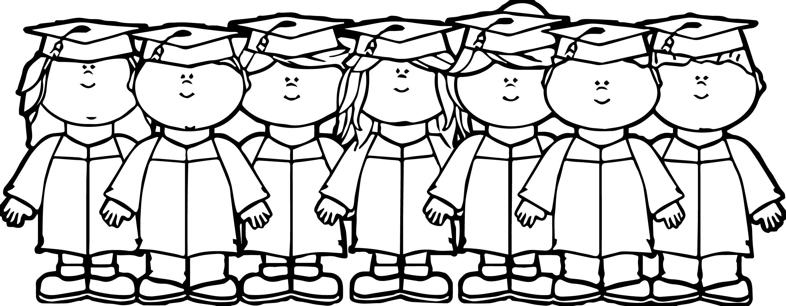 Kids Graduation Clip Art Kids Graduation Image Kids We