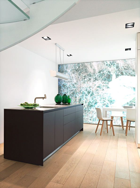 Bulthaup München bulthaup b3 in a touch lacquer finish kitchen