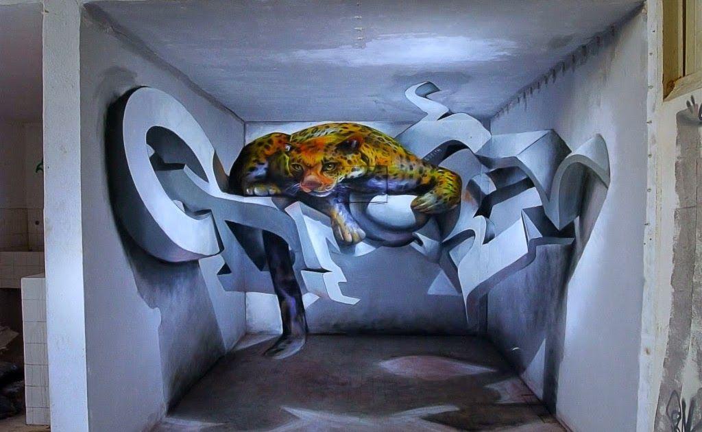 Cat Kamar Tidur Grafiti