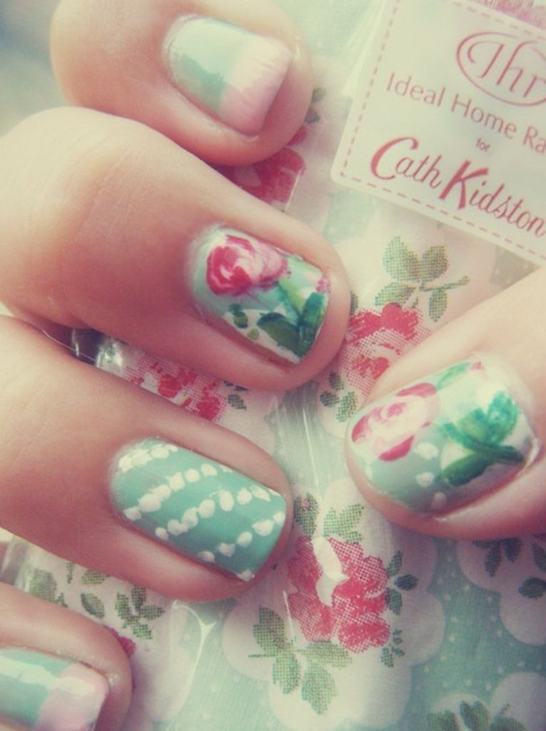 Shabby Chic Nail Designs - so fun!   Beauty, Nails & Hair ...