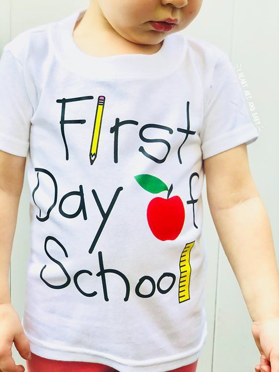 First Day of Preschool Shirt, First Day of Pre K, First Day of School Outfit, Preschool Outfit, Back To School Shirt, Free Shipping