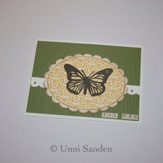 Sommerfuglkort
