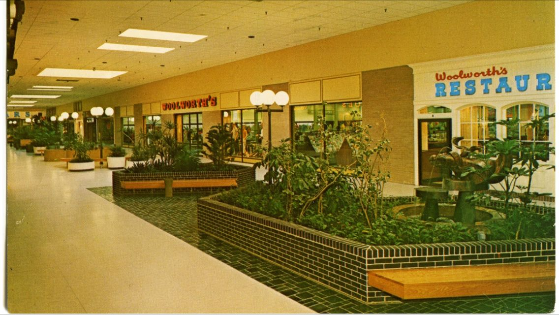 Late 1960 S Woolworth Store And Restaurant In Brookfield