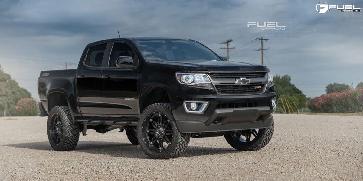 Chevrolet Colorado With Fuel 1 Piece Wheels Hostage D531