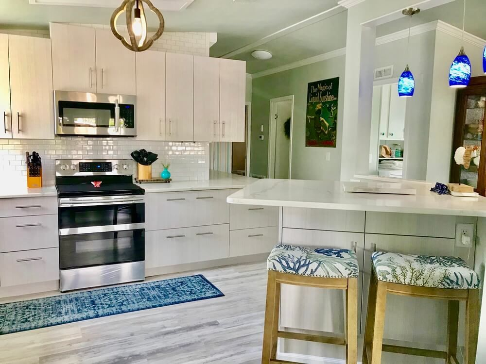 1988 Fuqua Double Wide Remodel Is A Tropical Paradise ...