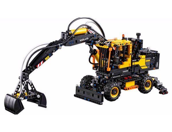 Lego Technic Volvo Ew160e Excavator Set Modely A Modelářství