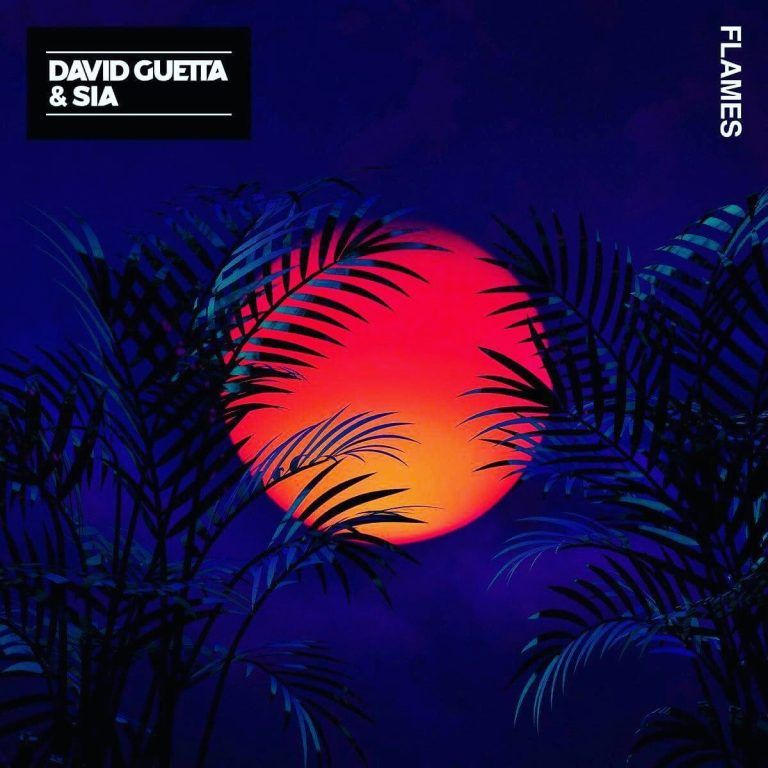 Download David Guetta ft Sia - Flames (free) in 2019 | Album Art