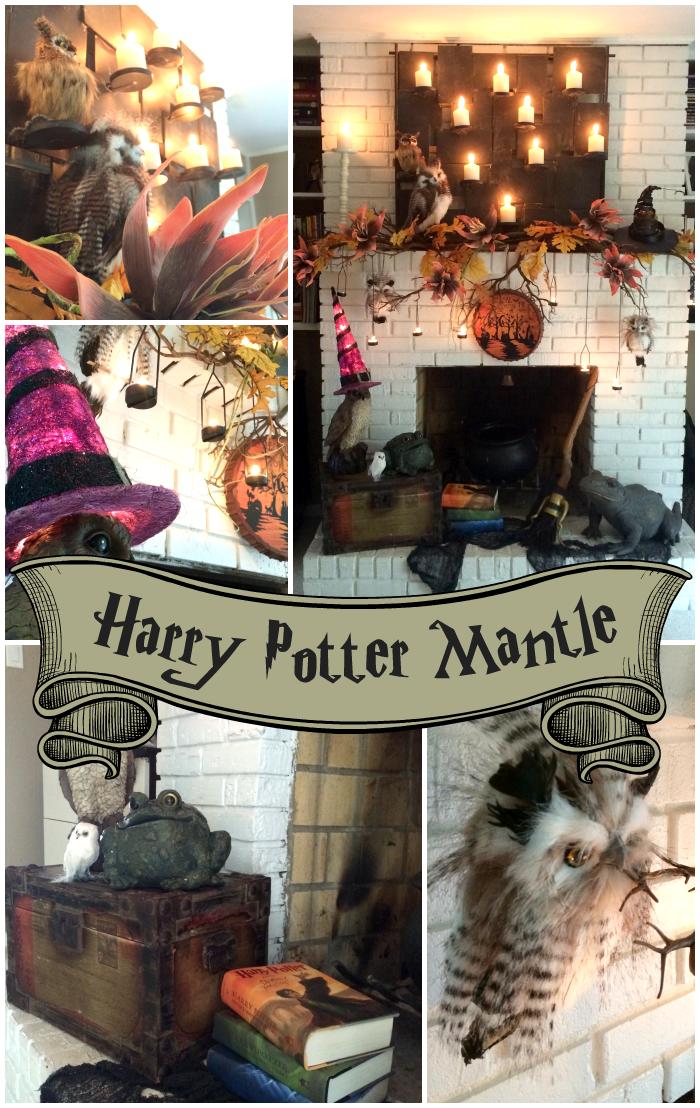 Harry potter mantel monster