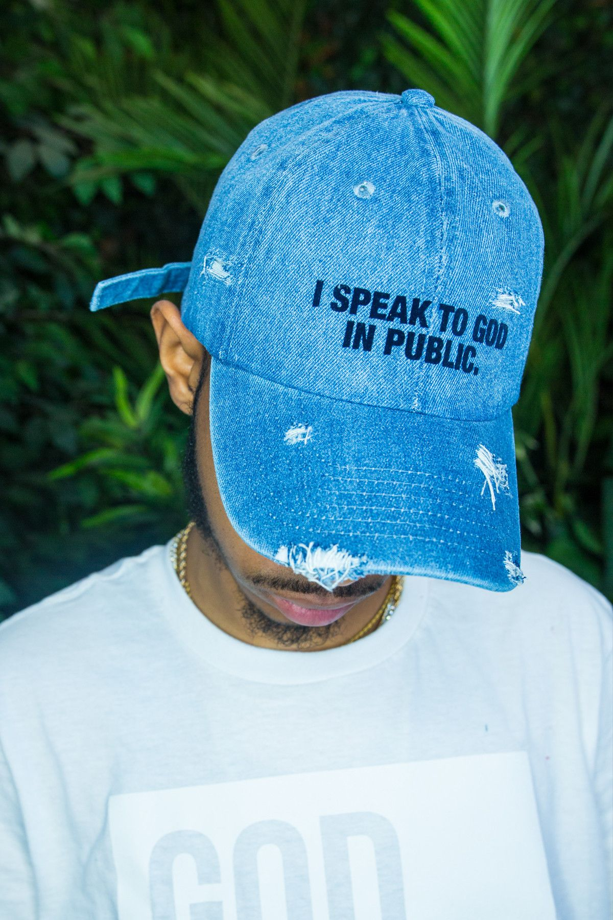 0c12e337112 I Speak to God in Public Hat