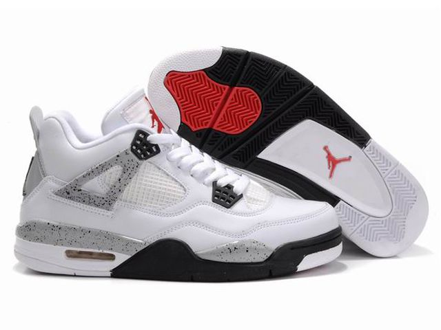 Cheap Purchase Nike Air Jordan 4 Phat Retro & Cement & White And Black-Tech  Grey Shoes Outlet UK Store
