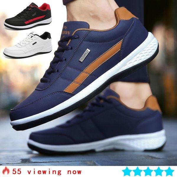 Mens casual shoes, Leather shoes men