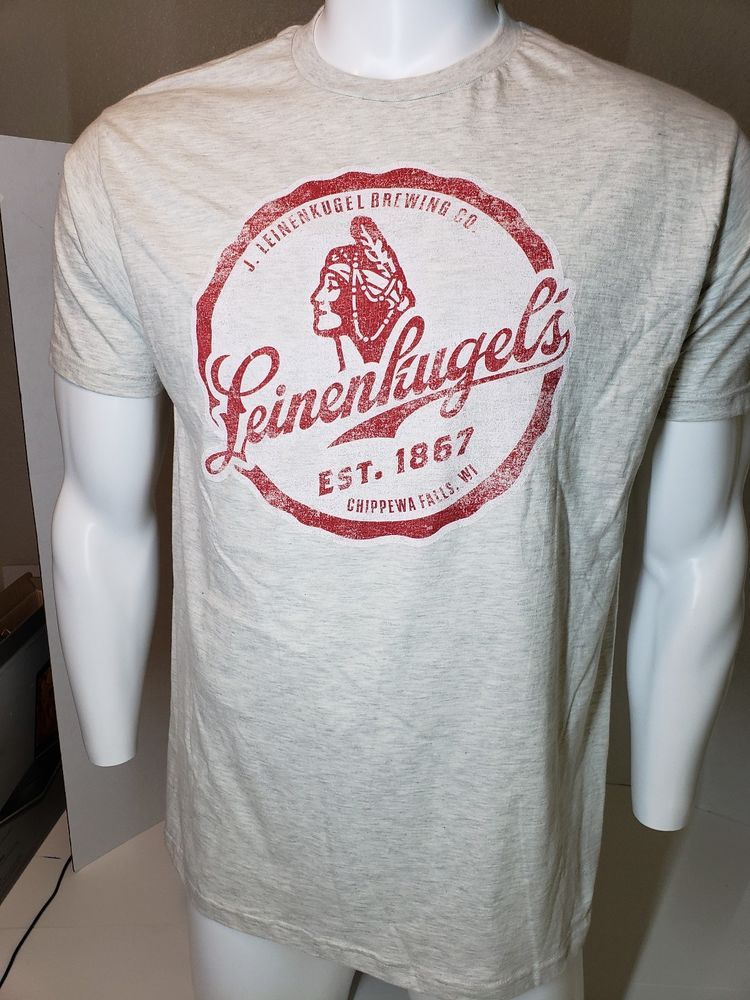 8493d578f022 LEINENKUGEL S NEW Men s Large T-shirt Graphic Est.1867 Chippewa Falls WI   fashion  clothing  shoes  accessories  mensclothing  shirts (ebay link)