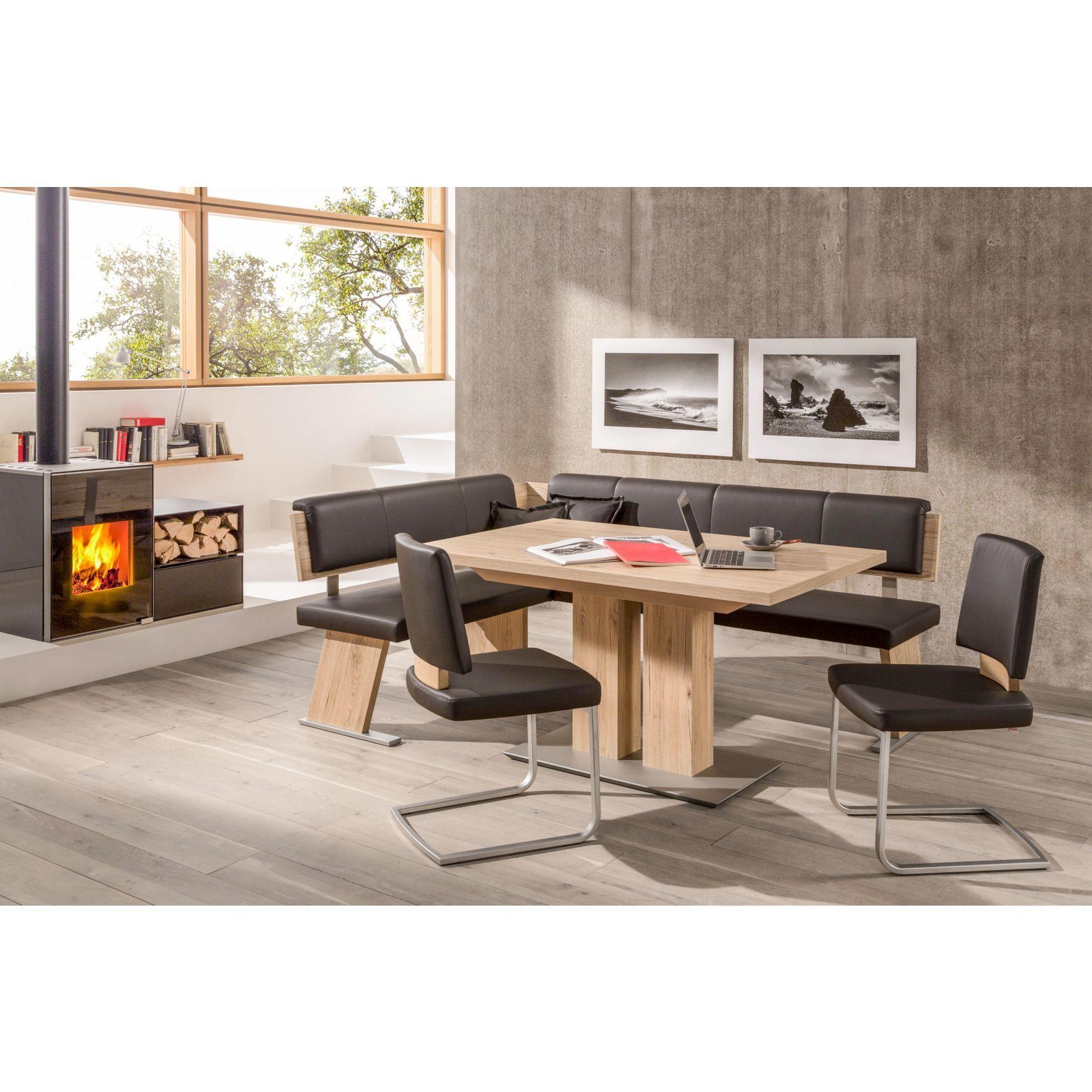 eckbankgruppe von w ssner eichefarben veredeln ihr. Black Bedroom Furniture Sets. Home Design Ideas