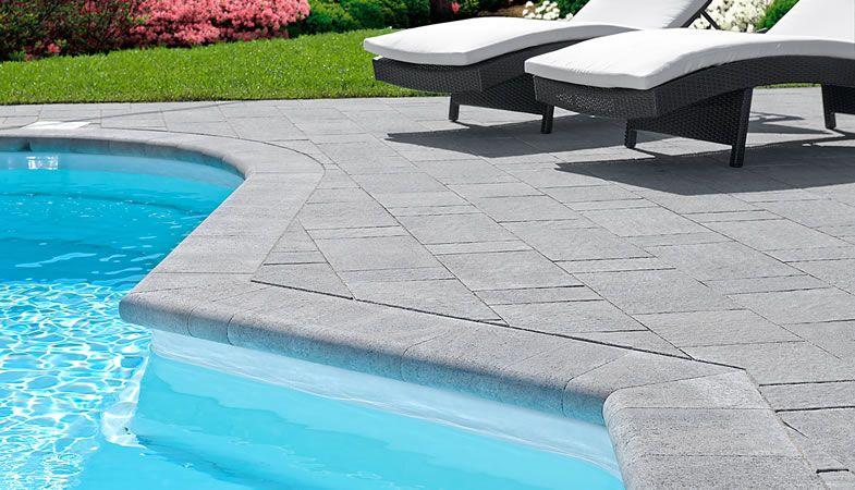 Leeroc Pavés, Briques et Pierres - produits d\u0027aménagement extérieur - amenagement bord de piscine
