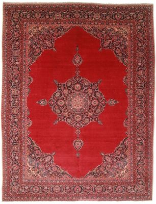 Antique Persian Kashan 11x14 Rug 1194 Rugs Hallway Carpet Runners Wool Rug