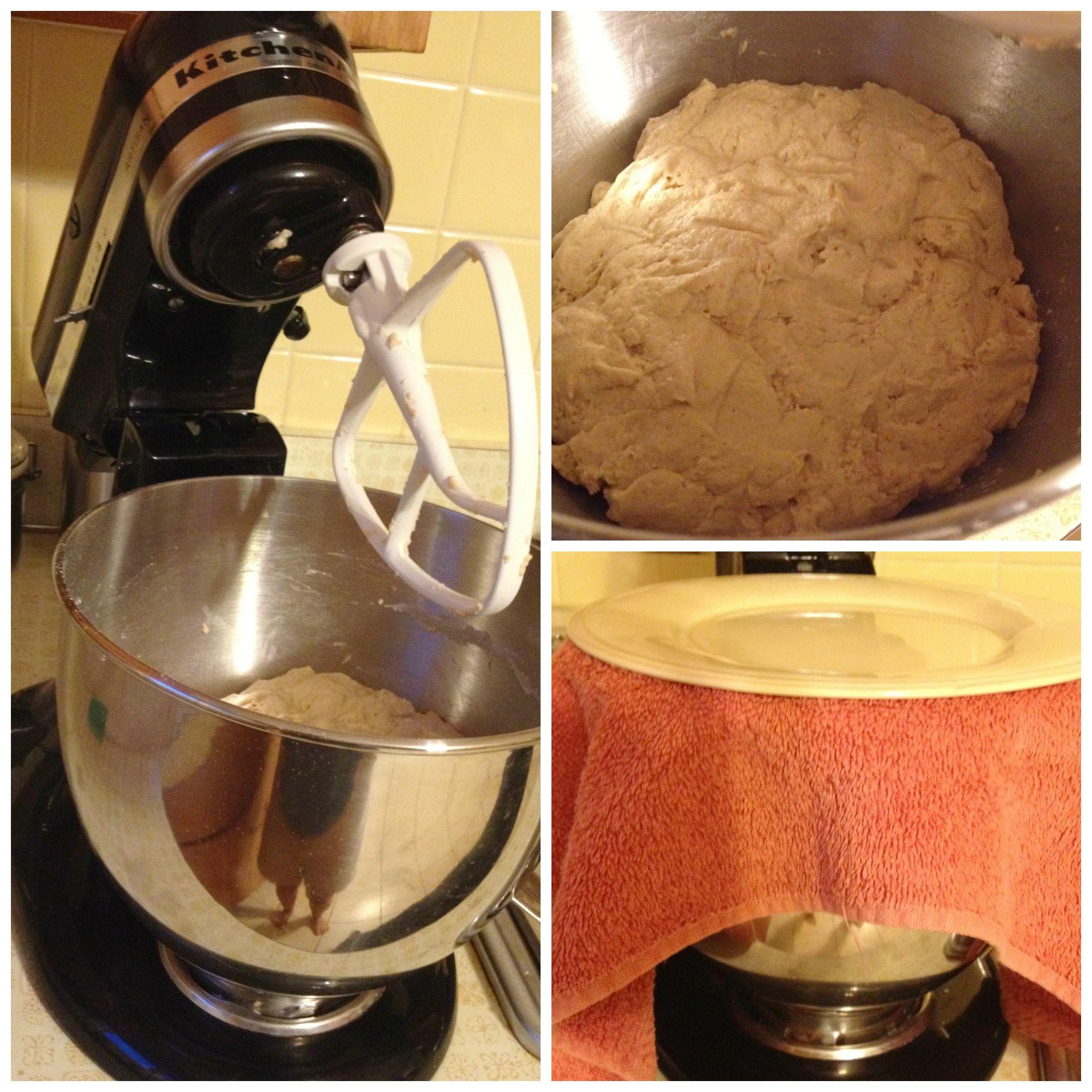 Soaked bread- kitchenaid
