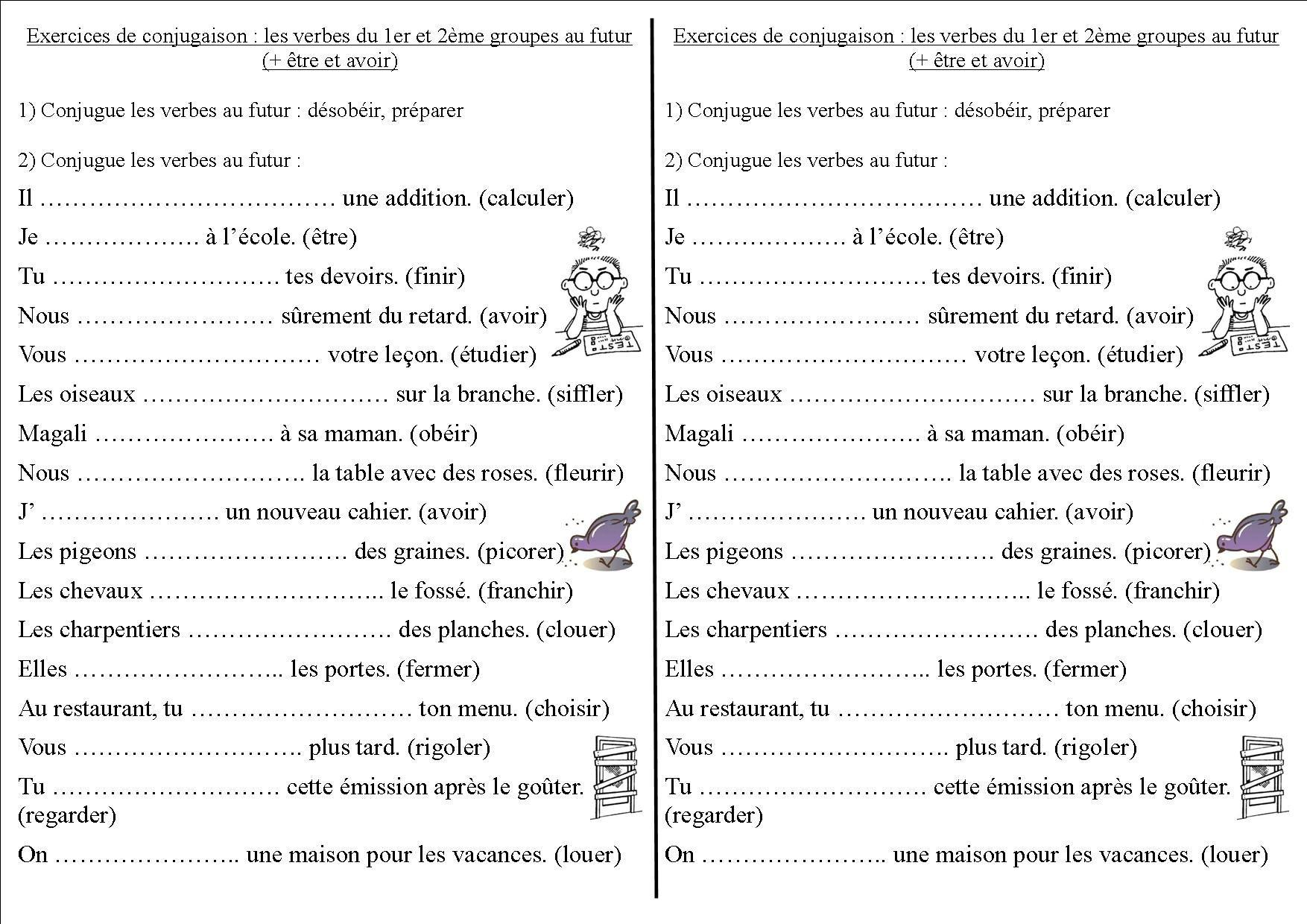 9 Idees De Exercice Verbe Exercice Verbe Verbe Exercice